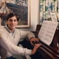 Glenn at the Piano