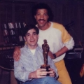 Glenn with Lionel Richie