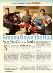 Family Circle Magazine Article Pg. 1