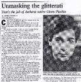 Unmasking Glitterati #1