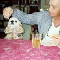 Arthur Feeding Katie