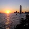 hudson great sunset