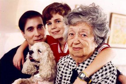 Glenn, Katie, Ryan & Granny