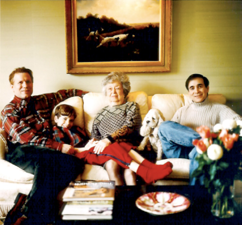 John, Ryan, Granny, Katie & Glenn