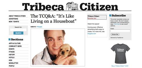 Tribeca Citizen Q&A  w/ Glenn Plaskin