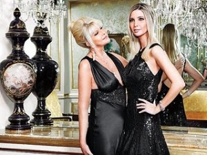 Ivana and her Daughter Ivanka