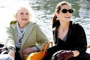Betty White with Sandra Bullock