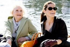 Betty White with Sandra Bullock