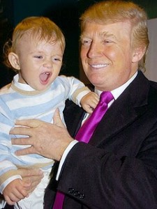 Donald Trump with His Son