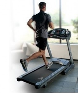 Excersing on the Treadmill