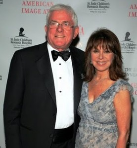 Marlo with her Husband - Phil Donahue